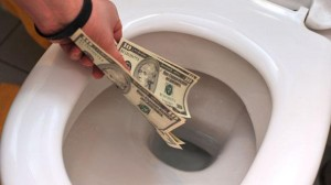 Toilet Money